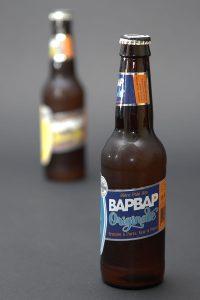 Cette bière est brassée à Paris. Affichette pour signalement dans magasins de boissons
