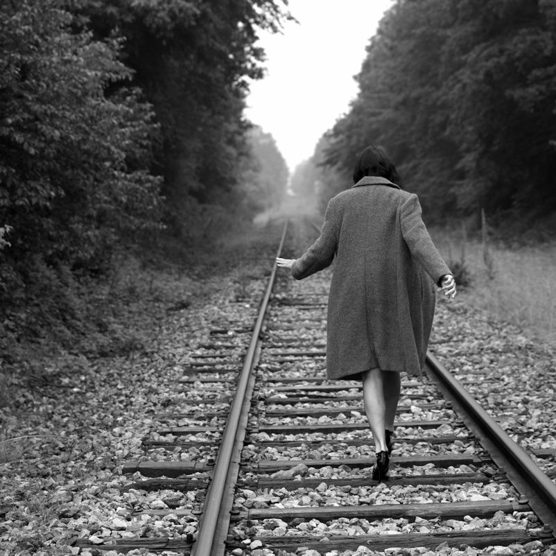 Marcher tout droit sans se retourner