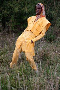 Pour le lancement de la nouvelle mode masculine - Styliste Nancy Coffe - Photographe Claude Florot