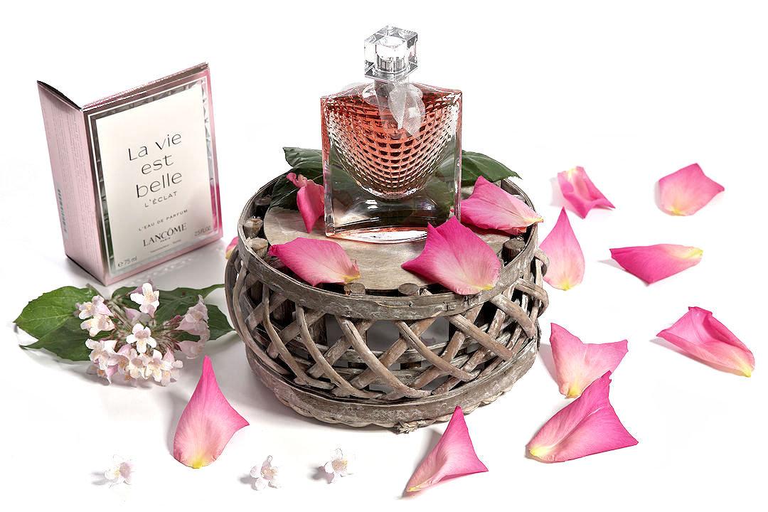 Campagne publicitaire parfumerie