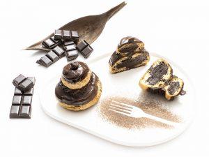 Pâtisserie, Religieuse au chocolat